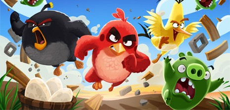 angry birds фото
