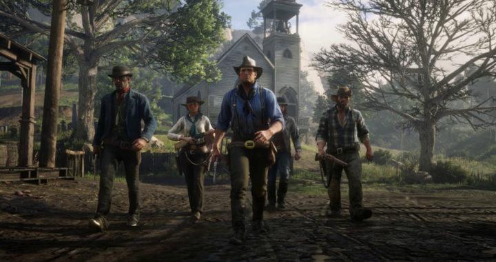 Демонстрация игрового процесса Red Dead Redemption 2