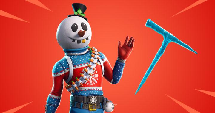 Фортнайт: Экипировка-скин Slushy Soldier (Снегобой)
