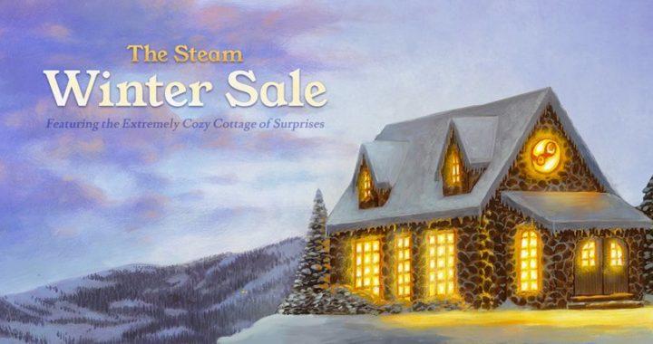 Зимняя распродажа в Steam началась!