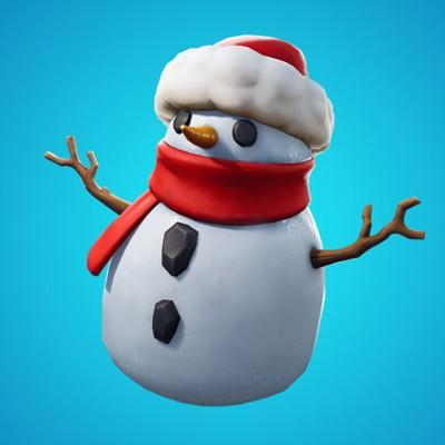 скрытный снеговик