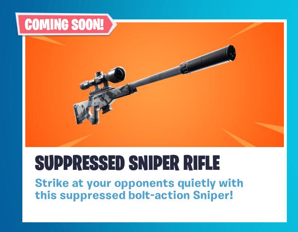 снайперка с глушителем