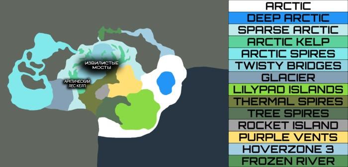 карта серы
