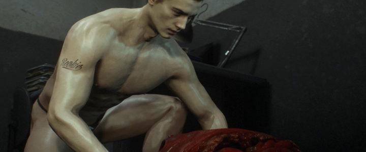 В Resident Evil 2 Remake в Одежде Остались Только Зомби! Мод раздел Леона.