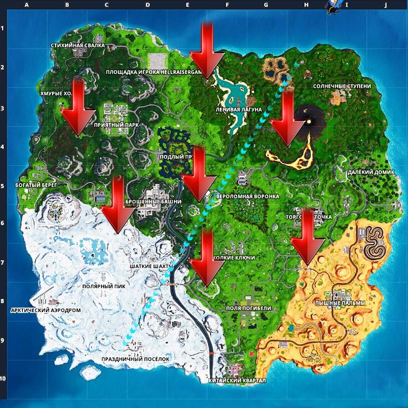 fortnite cheat map