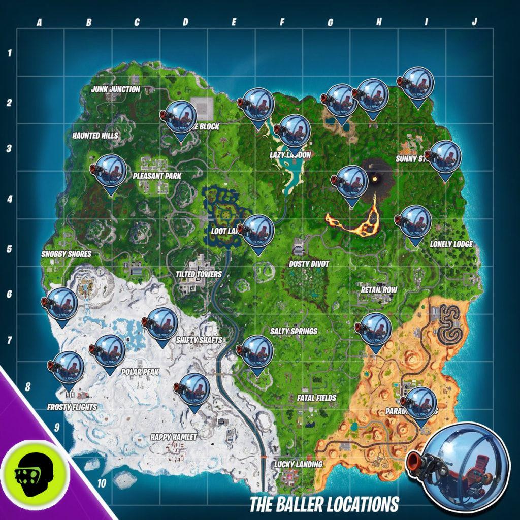 карта шароходов