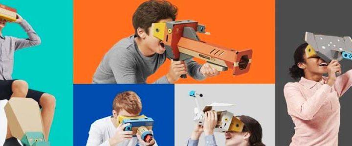 Nintendo Выпустит Набор Labo VR для Switch в Апреле