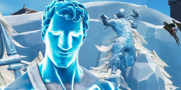 Как Станцевать Между Ледяными Статуями, Динозаврами и Гейзерами — на 9 Неделе Фортнайт