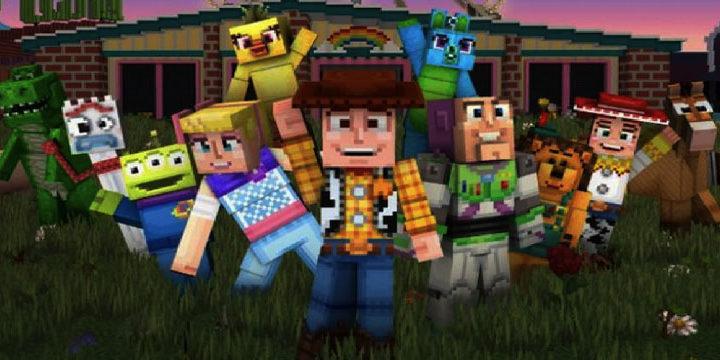 Как Играть в DLC История Игрушек 4 Для Minecraft с  Киану Ривзом