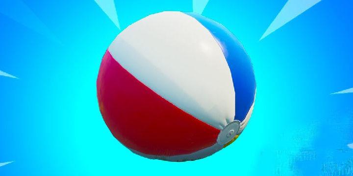 Как Толкнуть гигантский Пляжный Мяч в 14 Дней Лета Фортнайт