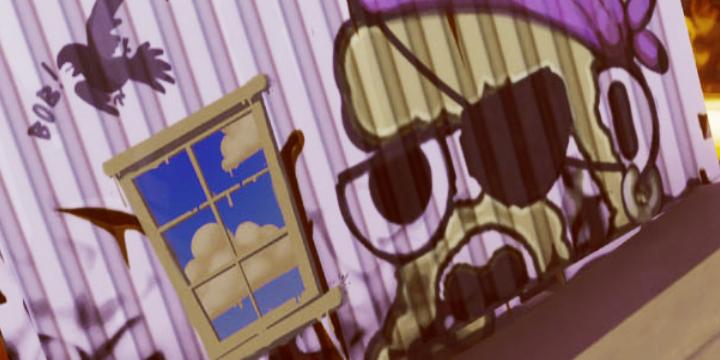 Все Контейнеры с Окнами и Граффити Фортнайт